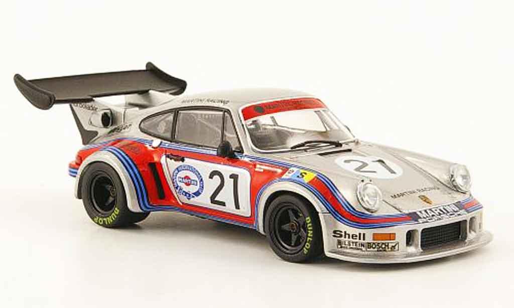 Porsche 930 Turbo 1/43 Ebbro RSR No.21 Martini 24h Le Mans 1974 miniature
