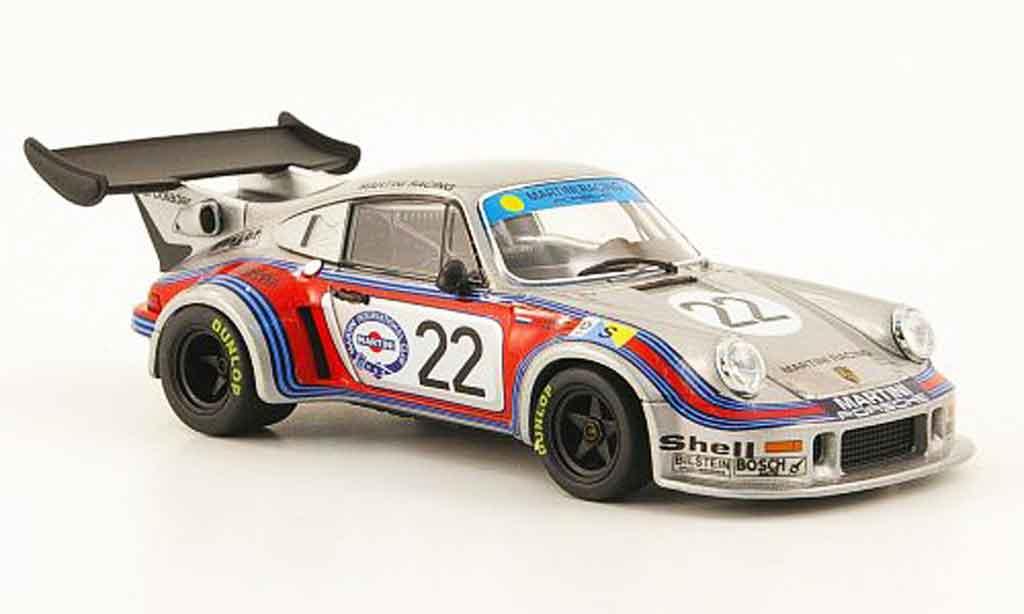 Porsche 930 Turbo 1/43 Ebbro RSR No.22 Martini 24h Le Mans 1974 miniature