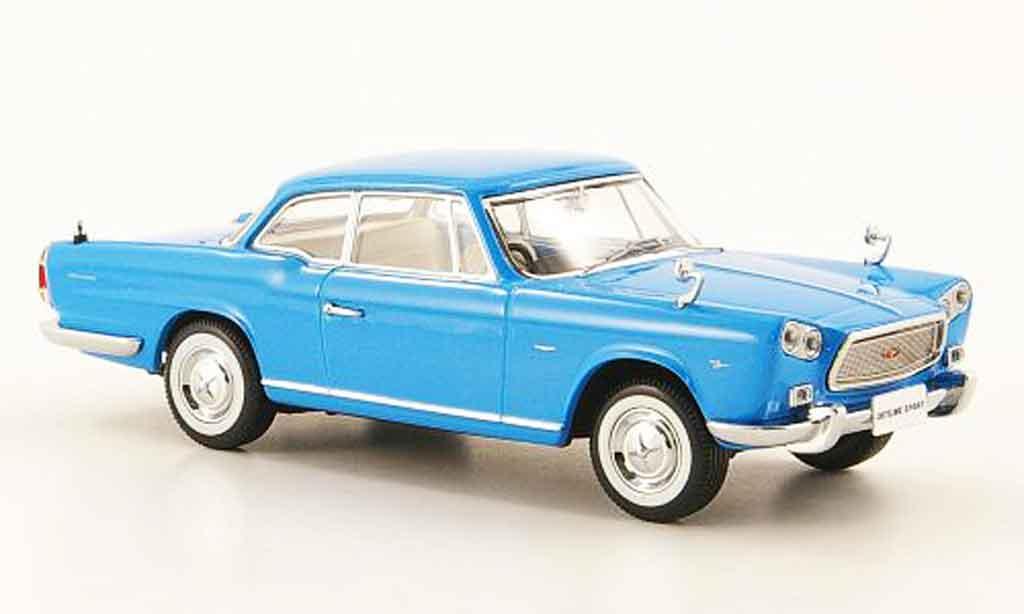 Nissan Skyline Prince Sport 1/43 Kyosho Coupe bleu diecast model cars