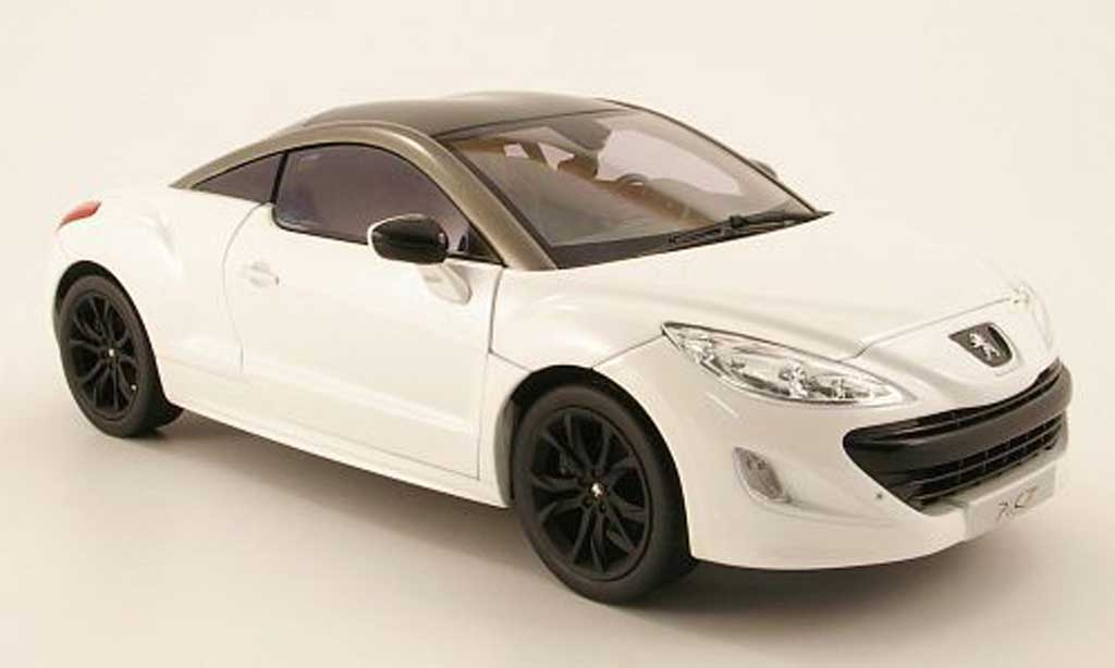 peugeot rcz weiss 2010 norev modellauto 1 18 kaufen verkauf modellauto online. Black Bedroom Furniture Sets. Home Design Ideas