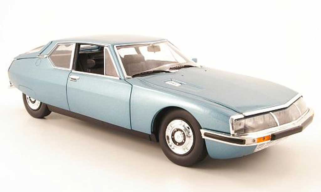 Citroen SM blue 1971 Norev. Citroen SM blue 1971 miniature 1/18