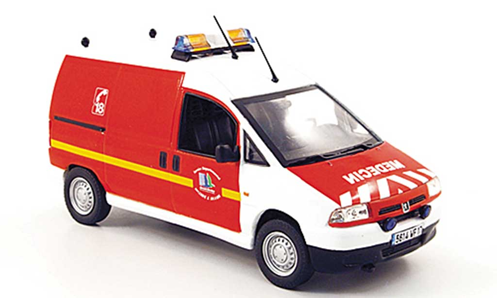 peugeot expert miniature pompiers vrm pompier frankreich 2001 norev 1 43 voiture. Black Bedroom Furniture Sets. Home Design Ideas