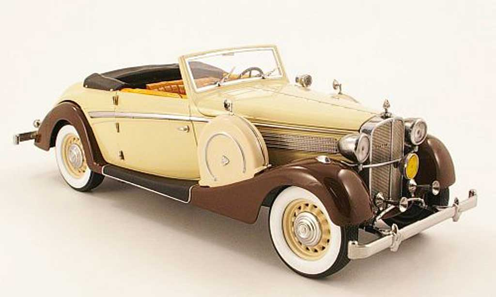 Maybach SW 1/18 Signature 38 sport marron/marron (premium) 1937 miniature