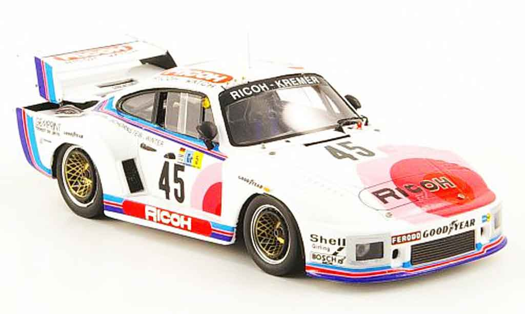 Porsche 935 1978 1/43 Spark K2 No.45 Ricoh 24h Le Mans diecast model cars