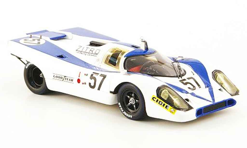 Porsche 917 1971 1/43 Spark No.57 Martin Pillon 24h Le Mans diecast model cars