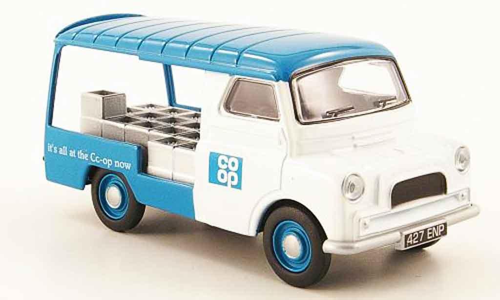 Bedford CA 1/43 Oxford Pritsche co op Milchlieferwagen miniature