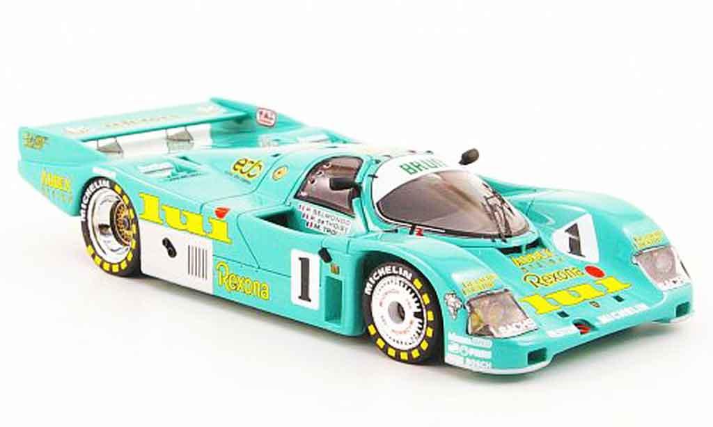 Porsche 962 1987 1/43 Spark No.1 lui 24h Le Mans miniature