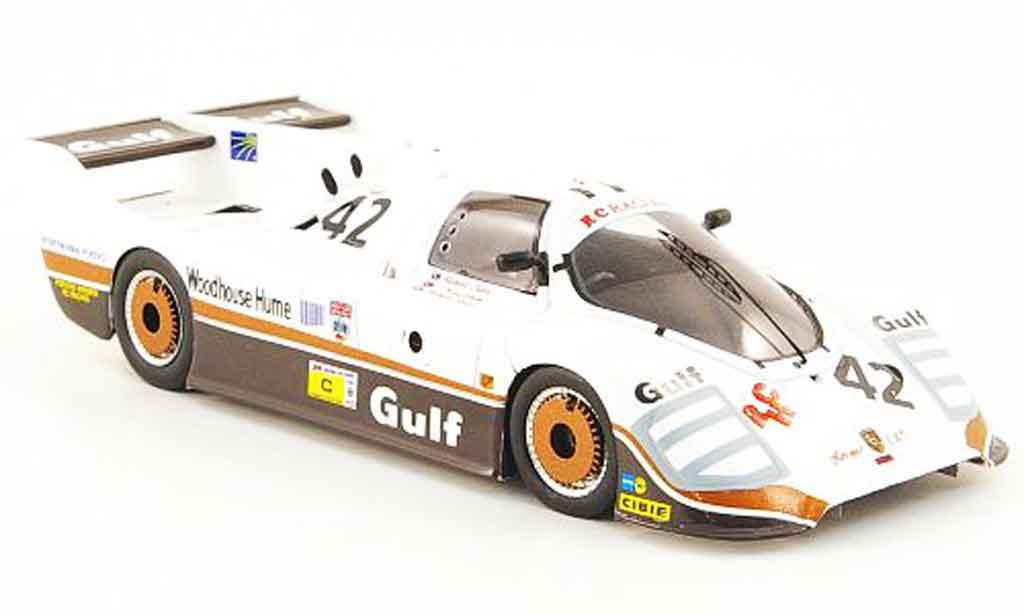 Porsche CK5 1/43 Spark No.42 Gulf 24h Le Mans 1983 diecast model cars