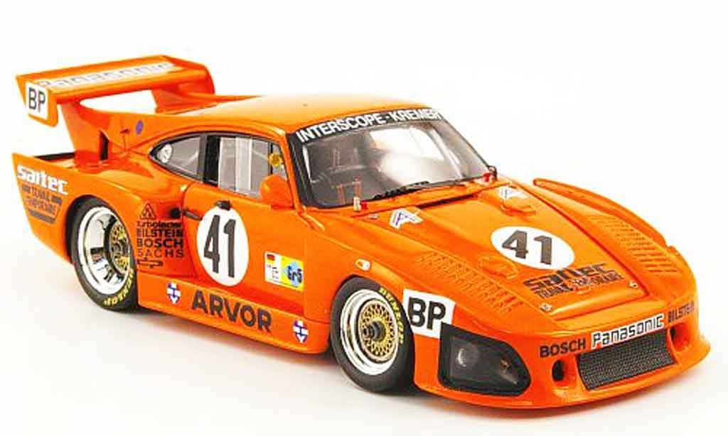 Porsche 935 1980 1/43 Spark K3 No.41 Sartec 24h Le Mans diecast model cars