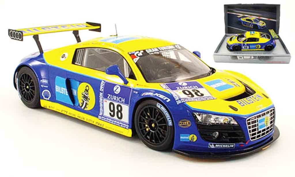 Audi R8 LMS 1/18 Spark no.98 bilstein 24h adac nurburgring 2009 diecast