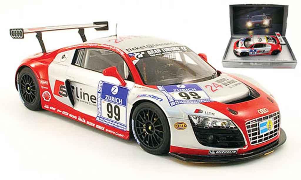 Audi R8 LMS 1/18 Spark no.99 s line 24h adac nurburgring 2009 diecast