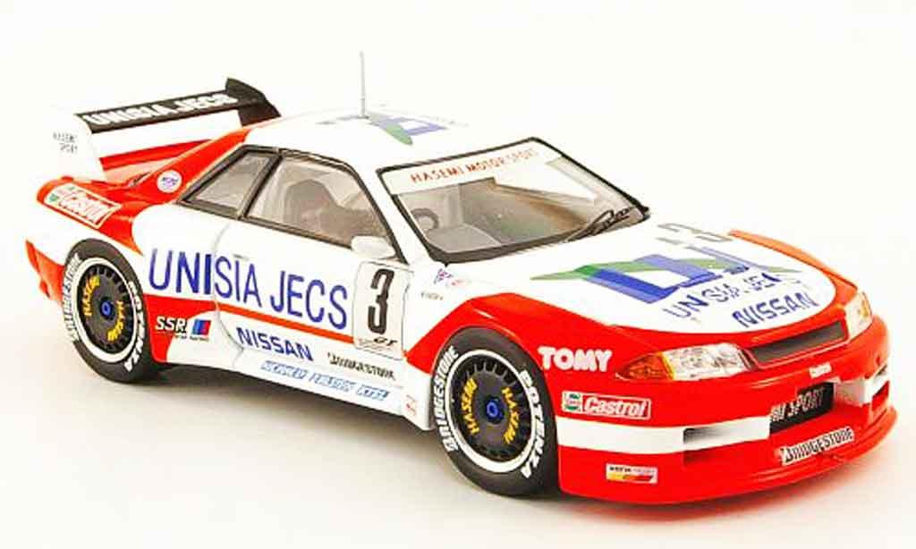 Nissan Skyline R32 1/43 Ebbro GT R No.3 Unisia Jecs JGTC 1994 diecast