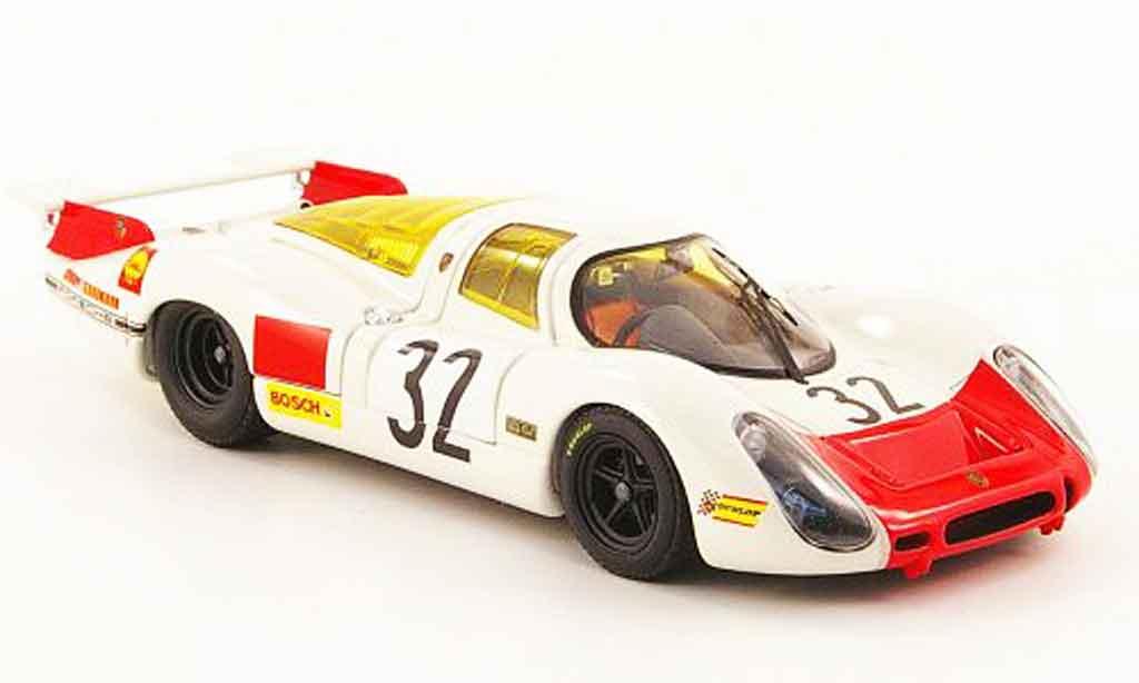 Porsche 908 1968 1/43 Ebbro No.32 24h Le Mans miniature