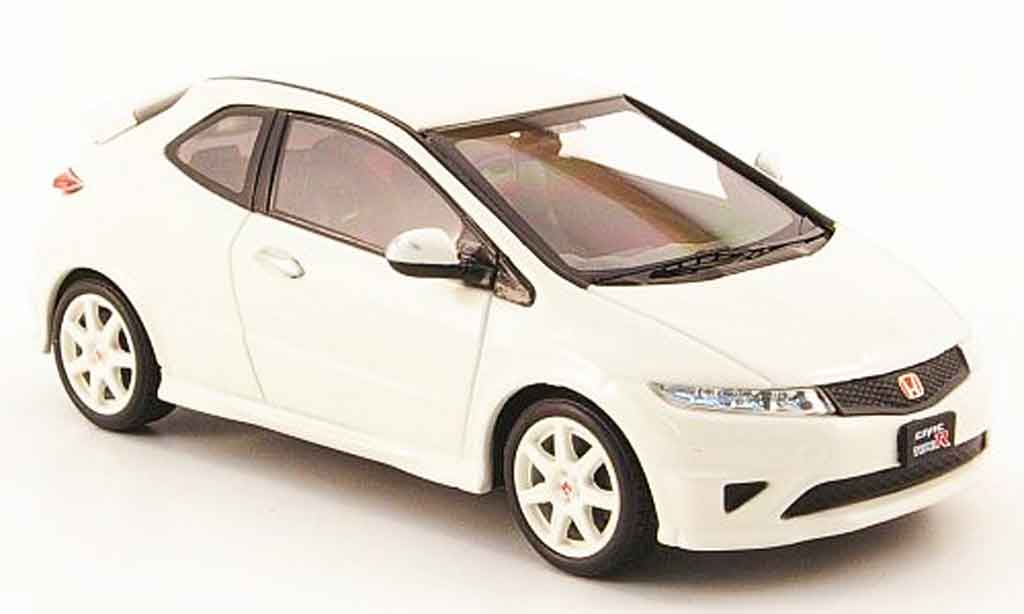 Honda Civic Type R 1/43 Ebbro blanca RHD miniatura