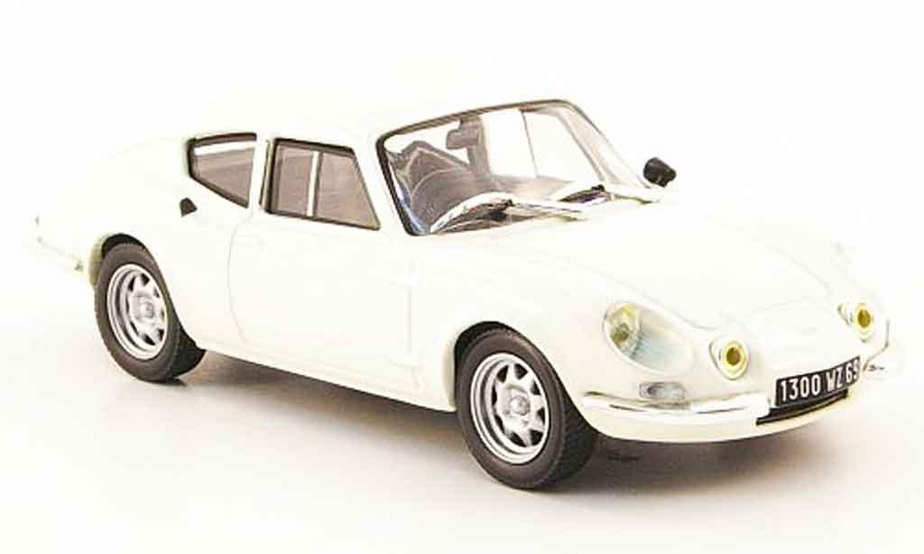 Simca CG 1/43 Nostalgie 1300 coupe blanche 1973 miniature