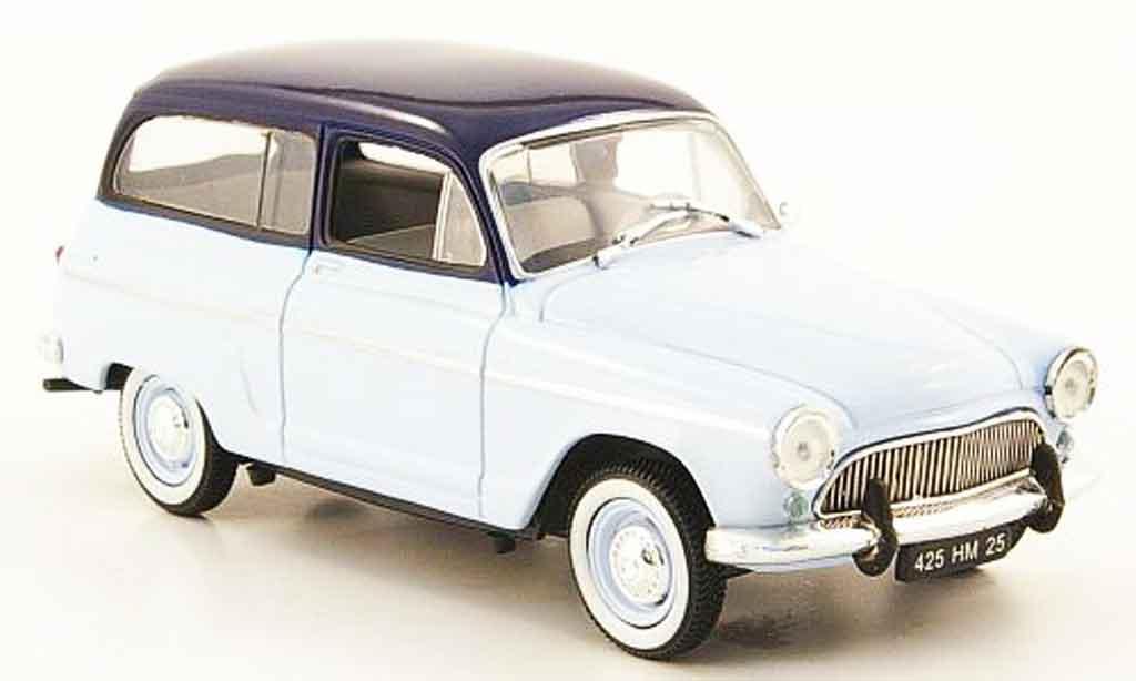 Simca Aronde 1/43 Nostalgie ranch bleu 1961 miniature