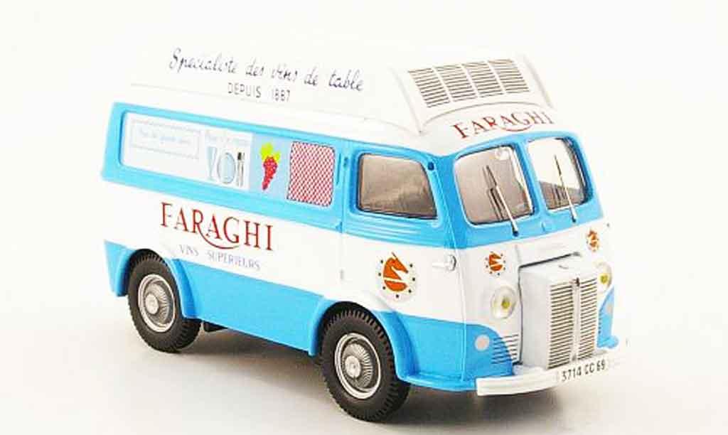 Peugeot D3A 1/43 Heritage hochdachkasten faraghi lieferwagen miniature