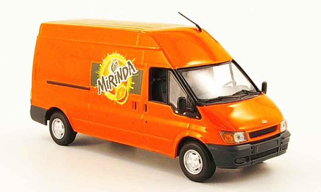 Ford Transit 1/43 Minichamps Kastenwagen Mirinda 2000 miniature