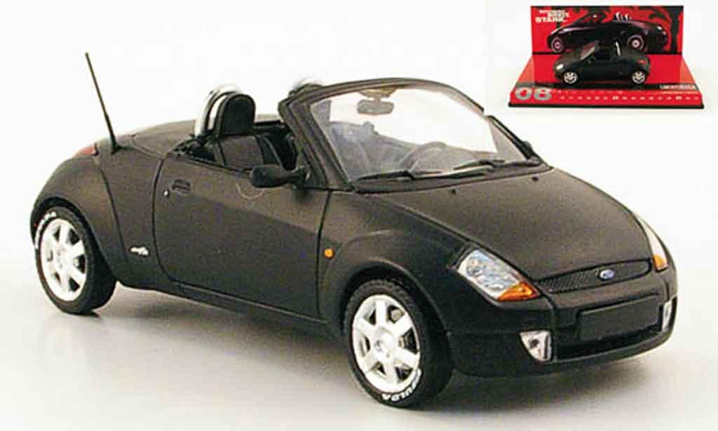 Ford Street Ka 1/43 Minichamps matt noire 2003 miniature