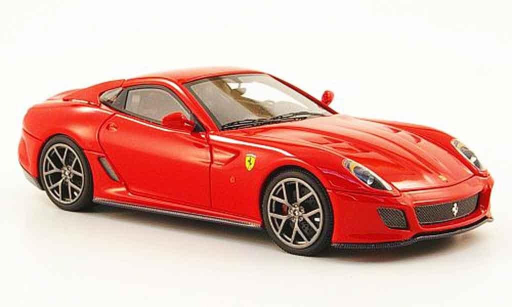 Ferrari 599 GTO 1/43 Look Smart rouge 2010 miniature