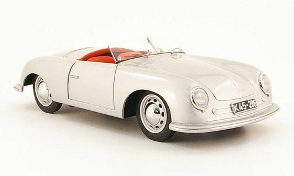 Porsche 356 1948 1/18 Autoart (nr.1) grise miniature