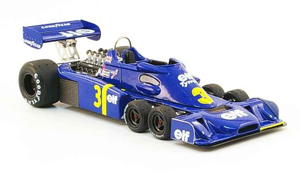 Tyrrell P34 1/43 Reve Collection No.3 elf Funfter Platz GP Holland 1976 miniature