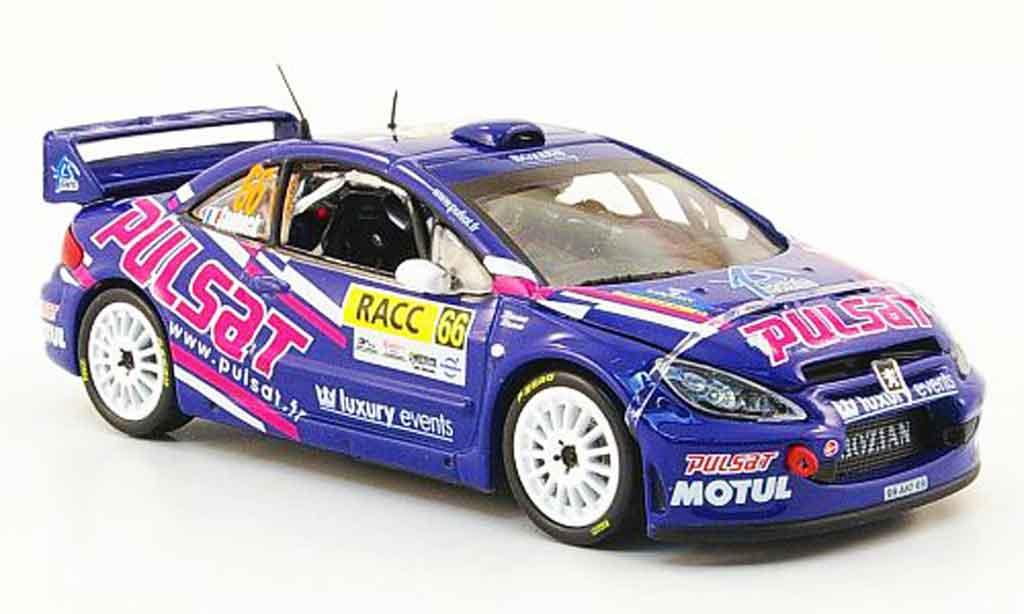 Peugeot 307 WRC 1/43 Vitesse no.66 pulsat racc rallye catalunya 2009 miniature