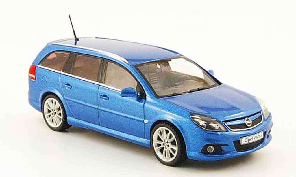 Opel Vectra 1/43 Schuco caravan opc bleu miniature