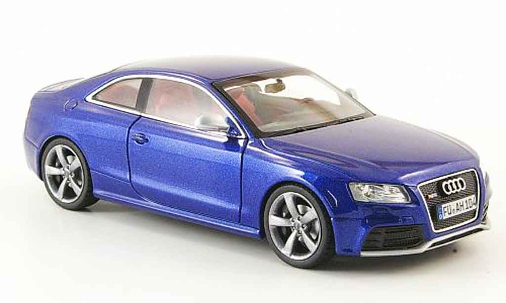 Audi RS5 coupe blue Schuco. Audi RS5 coupe blue miniature 1/43