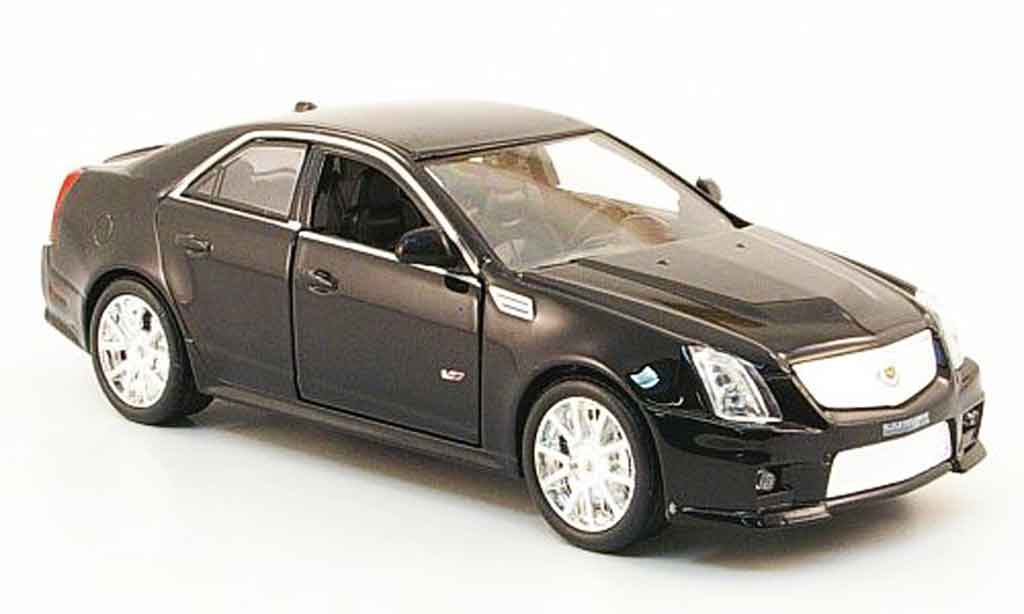 Cadillac CTS 1/43 Luxury Die Cast V noire 2009 miniature