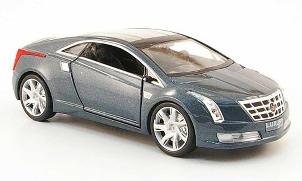 Cadillac Converj 1/43 Luxury Die Cast Concept grise 2009 miniature