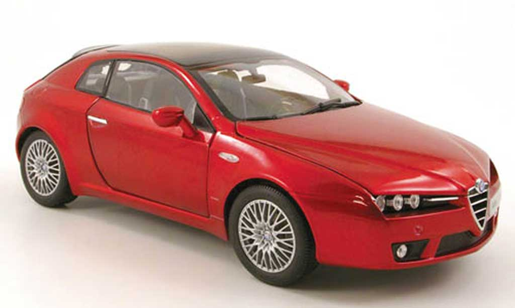 alfa romeo brera miniature rouge 2006 norev 1 18 voiture. Black Bedroom Furniture Sets. Home Design Ideas