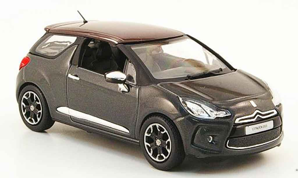 citroen ds3 gray red 2010 norev diecast model car 1 43 buy sell diecast car on. Black Bedroom Furniture Sets. Home Design Ideas