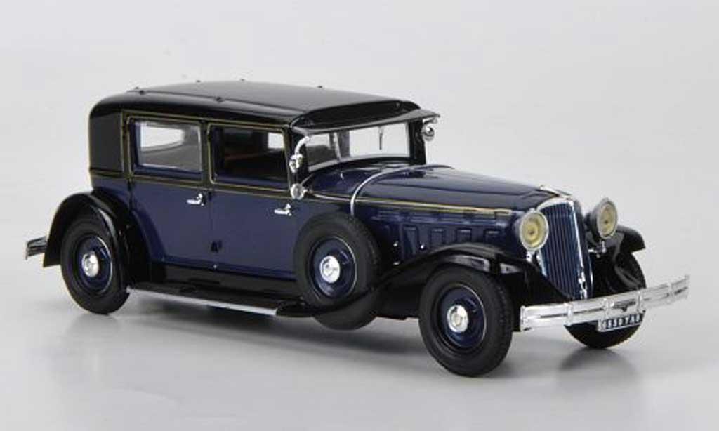 Renault RM2 1/43 Norev Type Reinastella bleu/noire RHD 1932 miniature