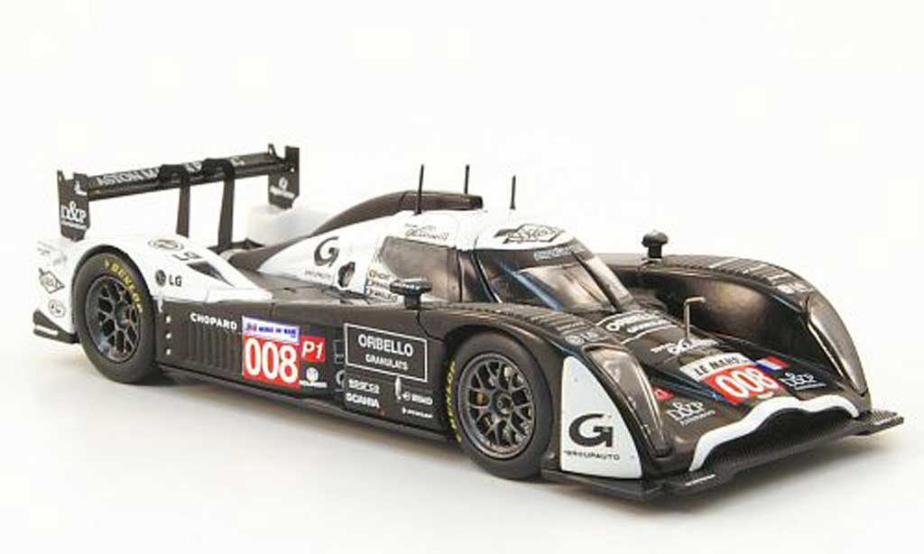 Aston Martin LMP1 1/43 Norev No.008 Team Signature 24h Le Mans 2010 miniature