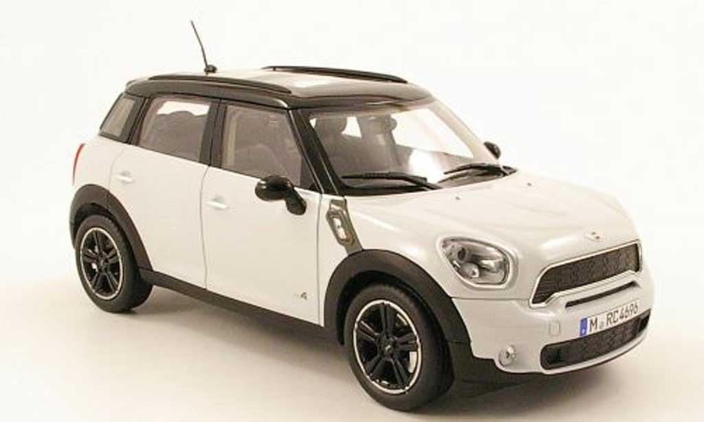 Mini Countryman S 1/18 Norev grise/noire 2010 miniature