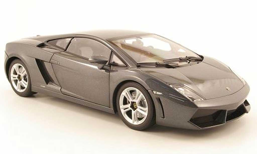 Lamborghini Gallardo LP560-4 LP560-4 1/18 Norev grise 2009 miniature