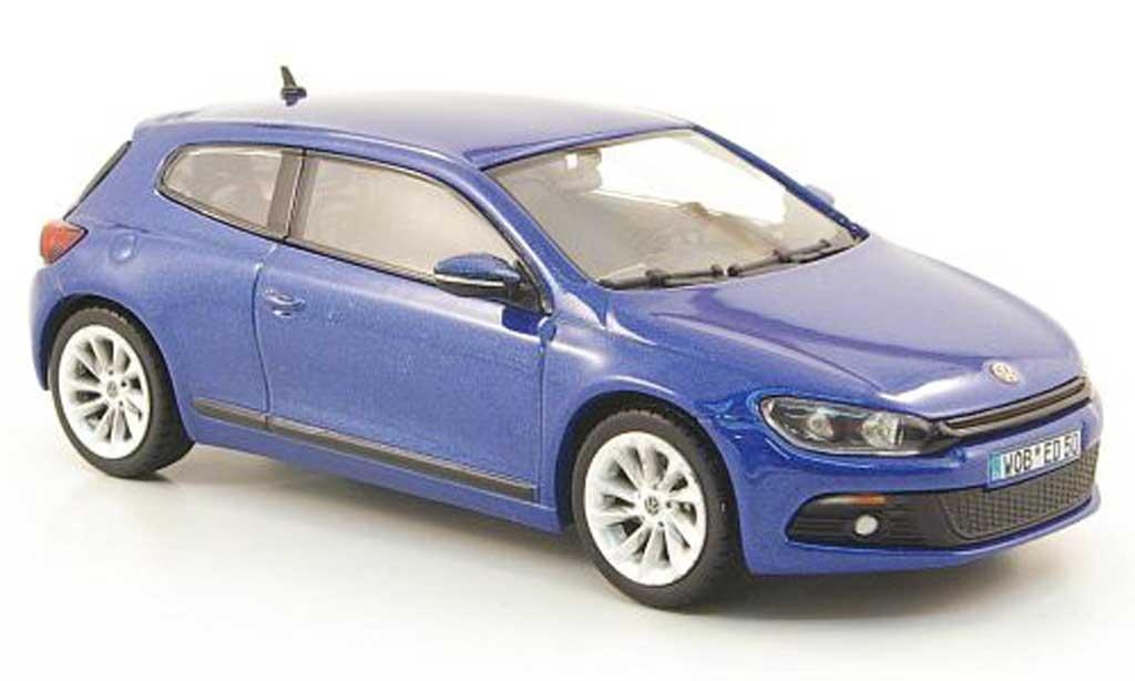 Volkswagen Scirocco 1/43 Norev 3 bleu 2008 miniature