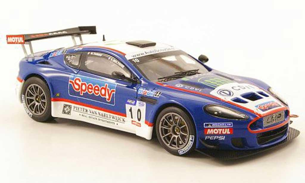 Aston Martin DBRS9 1/43 Norev GT3 No.10 Speedy LMP Motorsport 2010 miniature
