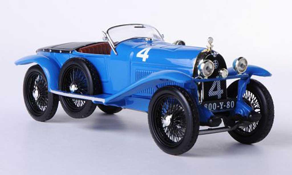 Lorraine Dietrich B3-6 1/43 IXO No.4 Stalter / E.Brisson 24h Le Mans 1925 miniature