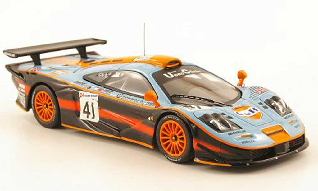 mclaren f1 gtr gulf 24h le mans 1997 ixo diecast model car 1 43 buy sell diecast car on. Black Bedroom Furniture Sets. Home Design Ideas