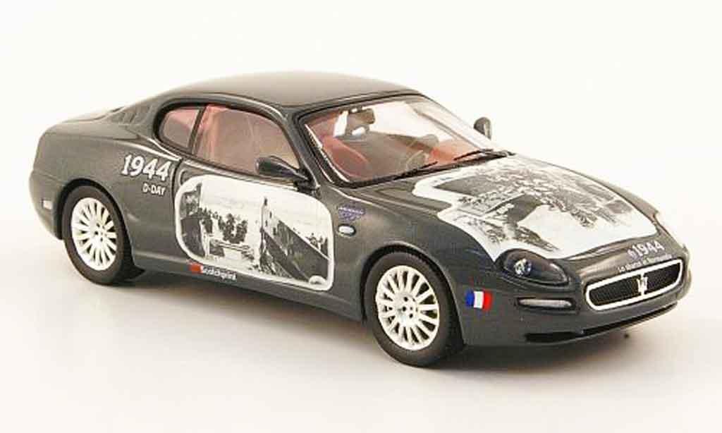Maserati Cambiocorsa coupe 1/43 IXO grise metallisee 90. jubilaum 2002 miniature