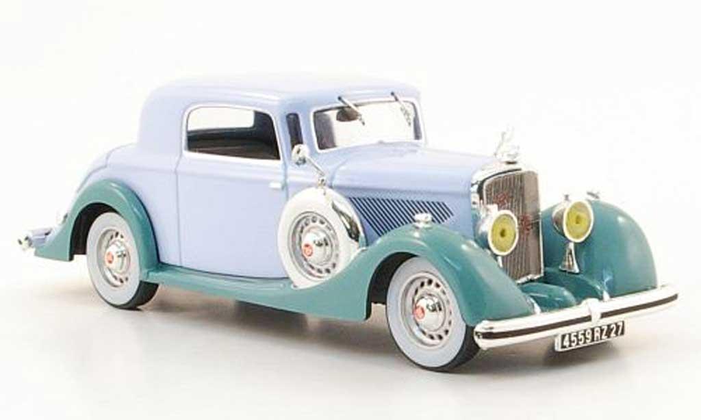 Panhard 6 CS 1/43 IXO (Faut-Cabriolet) bleu/mintgrun 1935 miniature