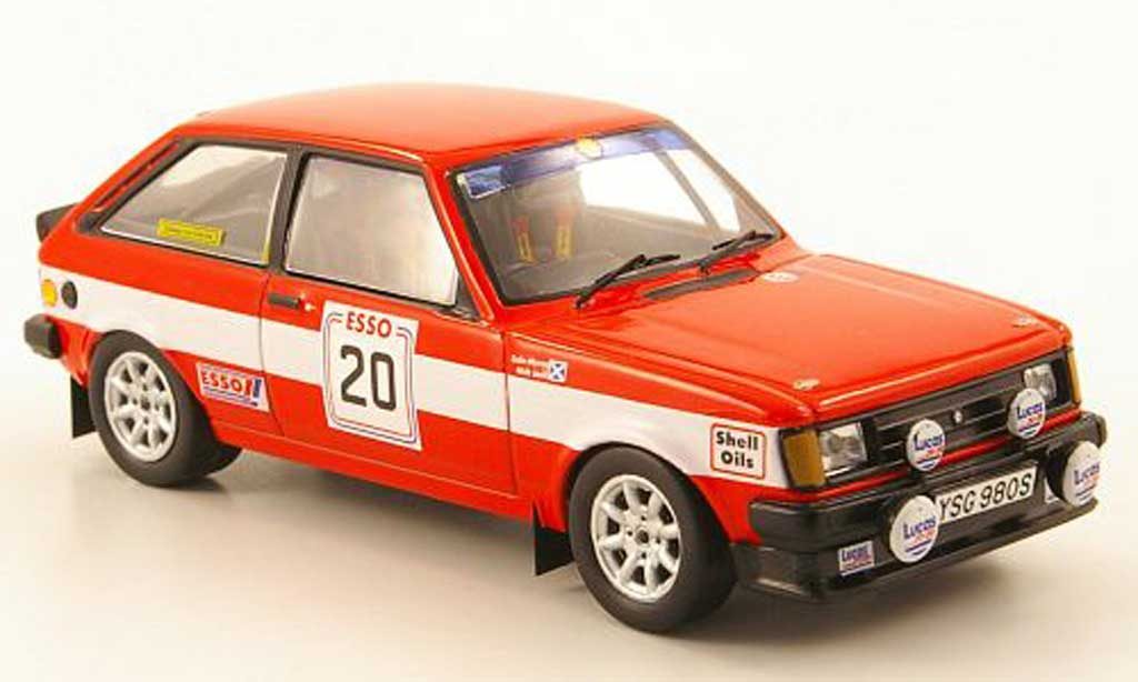 Sunbeam TI 1/43 IXO Talbot No.20 Galloway Hills Rally 1985 miniature