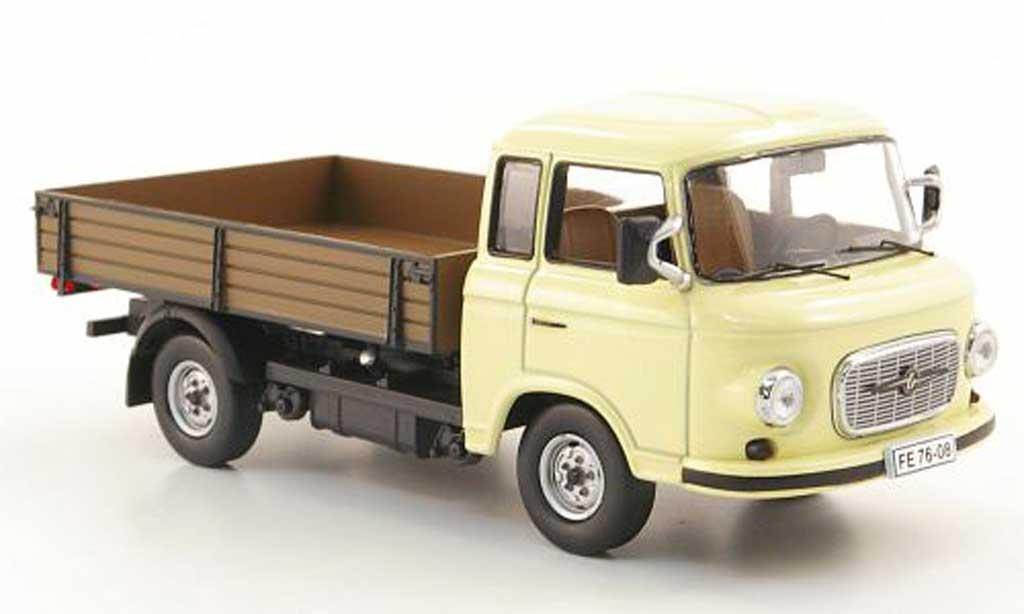 barkas b 1000 pritschenwagen beige 1968 ist models modellauto 1 43 kaufen verkauf modellauto. Black Bedroom Furniture Sets. Home Design Ideas