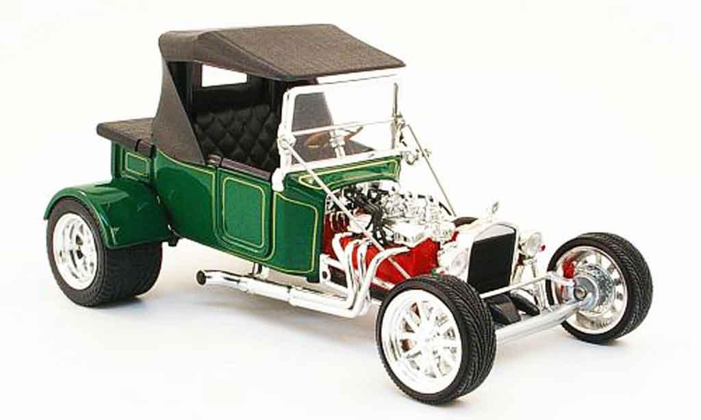 Ford Hot Rod 1/18 Yat Ming t-bucket verte geschlossen 1923 miniature