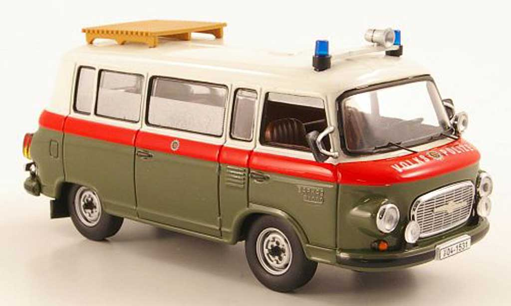 Barkas B 1000 1/43 IST Models Bus Volkspolizei 1968 miniature