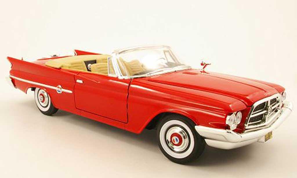 Chrysler 300F 1/18 Yat Ming convertible rouge 1960 miniature