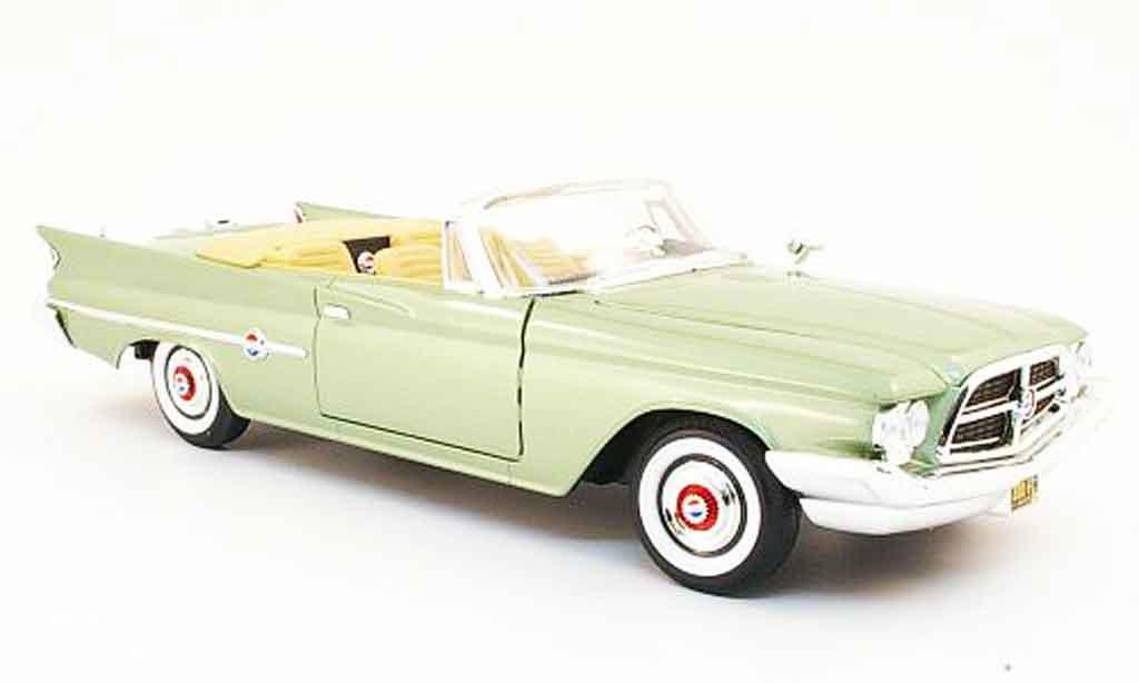Chrysler 300F 1/18 Yat Ming convertible grise verte 1960 miniature