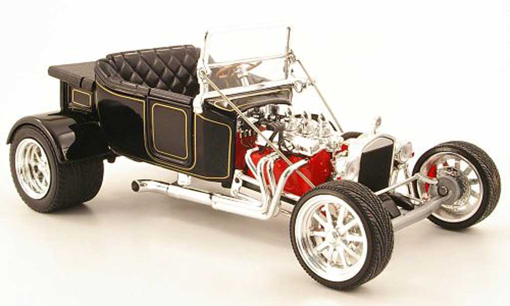 Ford Hot Rod 1/18 Yat Ming t-bucket noire 1923 miniature